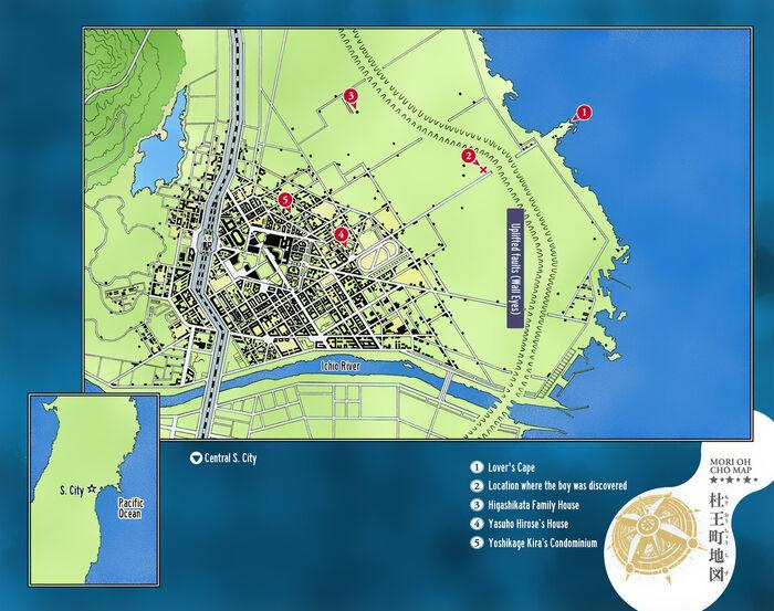 Morioh Map8 Colored