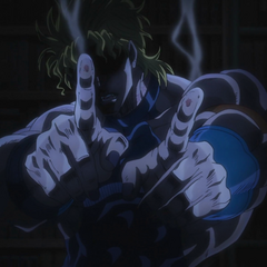 DIO demonstrating his unsymmetrical healing