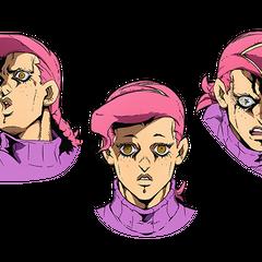 Концепт-арт лица Доппио
