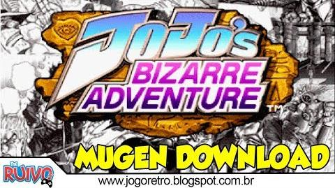 Jojo Bizarre Adventure MUGEN Edition 2018