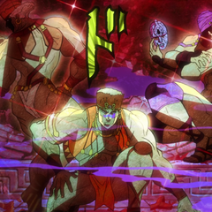 Kars and his companions awakening from a 2,000 year slumber