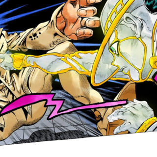 Rohan using his stand