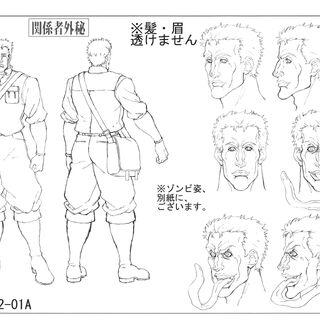 Anime reference sheet: human form