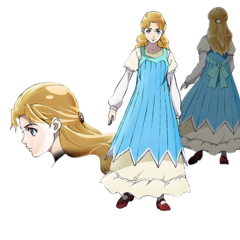 Concept Art of Young Erina