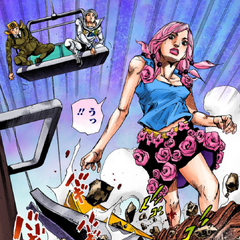 First appearance, about to attack Yasuho