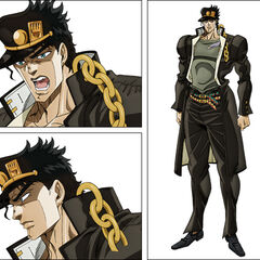 <i>Stardust Crusaders</i> TV anime key art