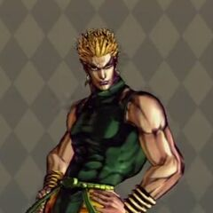 Dio Costume A in <i>All Star Battle</i>