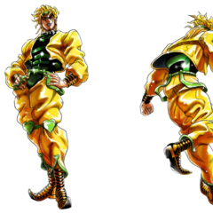 <i>All-Star Battle</i> concept art (DIO)
