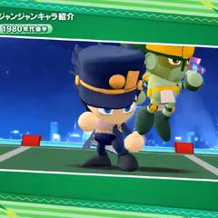Jotaro and Star Platinum в анонсном трейлере <i>Jump Stadium</i>