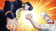 Tonio commands josuke to use soap