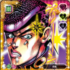 Pissed-off Josuke