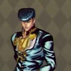 Josuke Costume D in <i>All Star Battle</i>