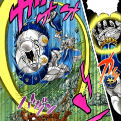 RHCP seemingly killed by Okuyasu