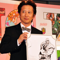 Araki on the Jojo Exhibition presenting Remote Romance