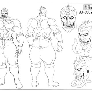 Anime reference sheet: zombie form