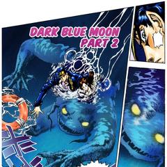 Dark Blue Moon approaching <a href=