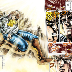 The death of Jonathan Joestar