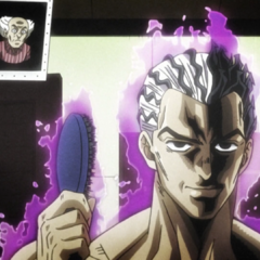 To match his unrivaled power, Kira's hair becomes transformed as well.