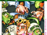 Vento Aureo/Chapter List