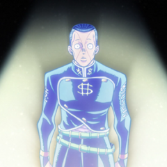 Okuyasu's spirit talks to his brother one last time.