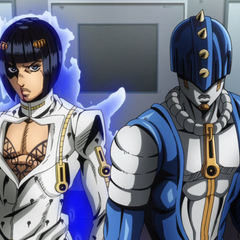 Bucciarati fully reveals his Stand, Sticky Fingers