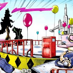 An amusement park created by Death Thirteen