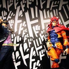 Jotaro & DIO Statues