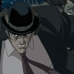 Speedwagon in the 2004 Phantom Blood Test Pilot
