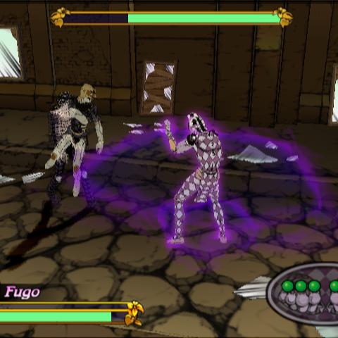 Stage 4-3, Fighting Purple Haze, <i>Vento Aureo</i>