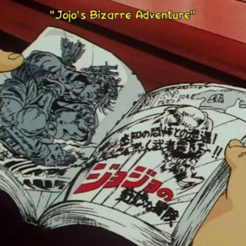 Reading JJBA Manga