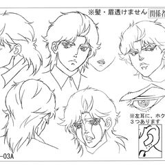 Reference sheet: Young Dio 3