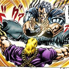 Using Thunder Cross Split Attack on <a href=