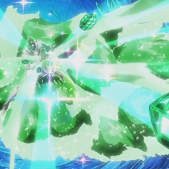 Hierophant Green's Emerald Splash