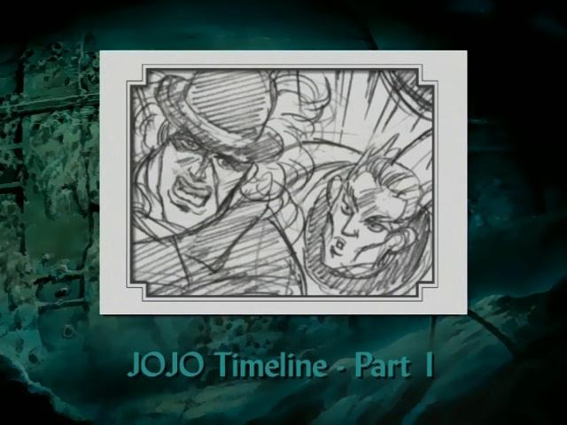 JoJo's Bizarre Adventure Part 1 & 2 Timeline (Part 1)