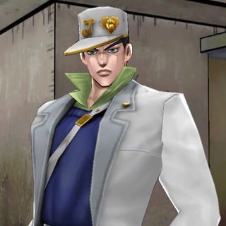 Jotaro as an area boss