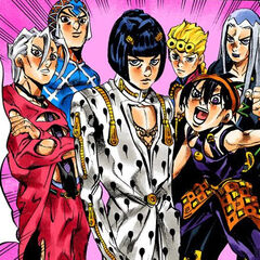 With the rest of Team Bucciarati, when Buccirati becomes a Capo of Passione