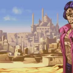 First cutscene in Devo's Heritage of the Future story mode
