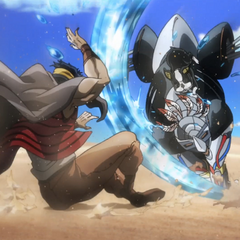 N'Doul collides with <a href=