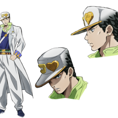 Key art of Jotaro for the <a href=