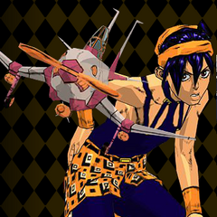 Narancia in the <i><a href=