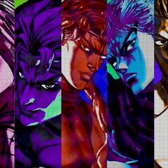 Kars, along with other main antagonists, in <i>All Star Battle</i>