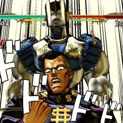 Okuyasu executing his GHA, <i>ASB</i>