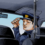 Hospital taxi driver