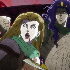Lisa Lisa tricked and defeated by the real Kars