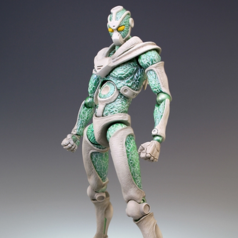 Hierophant Green action figure