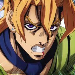 Fugo's angry expression