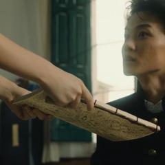 Коичи получает учебное пособие ручной работы от Юкако Ямагиши