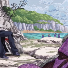 Moody Blues disintegrating after Abbacchio dies.