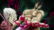 The arrow pierces Kira