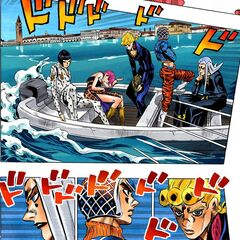 Bucciarati and his gang officially defect from Passione